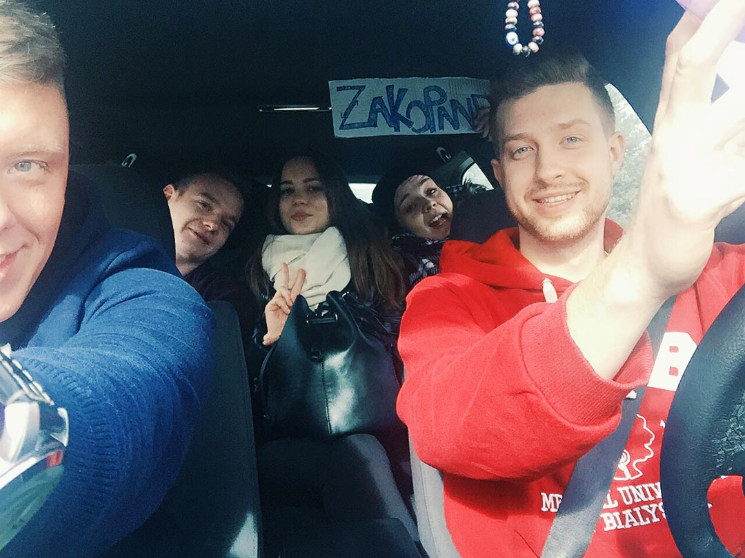 hitchhiking to Zakopane
