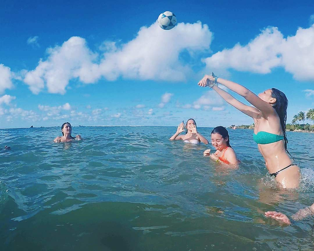 brazil with friends