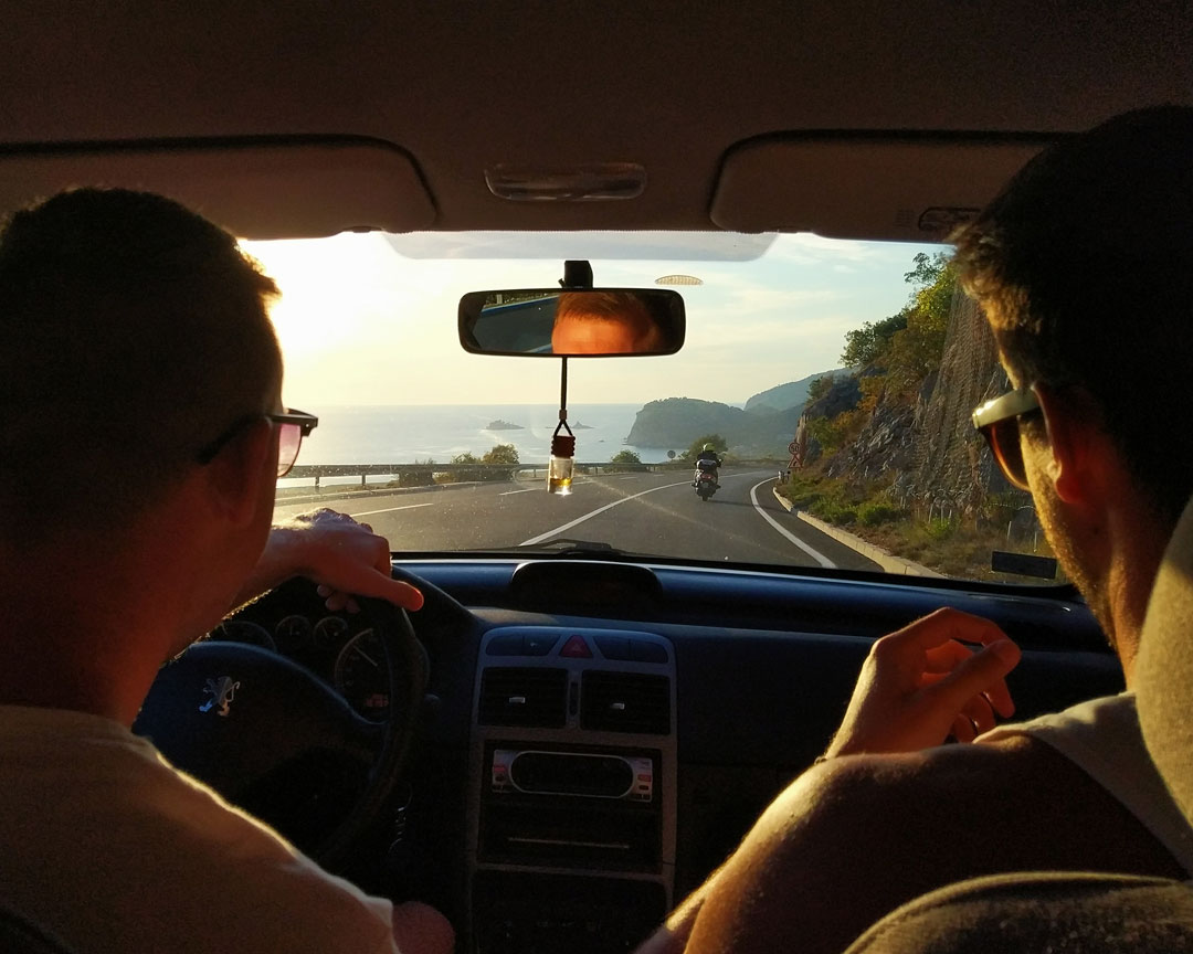 roadtrip in montenegro