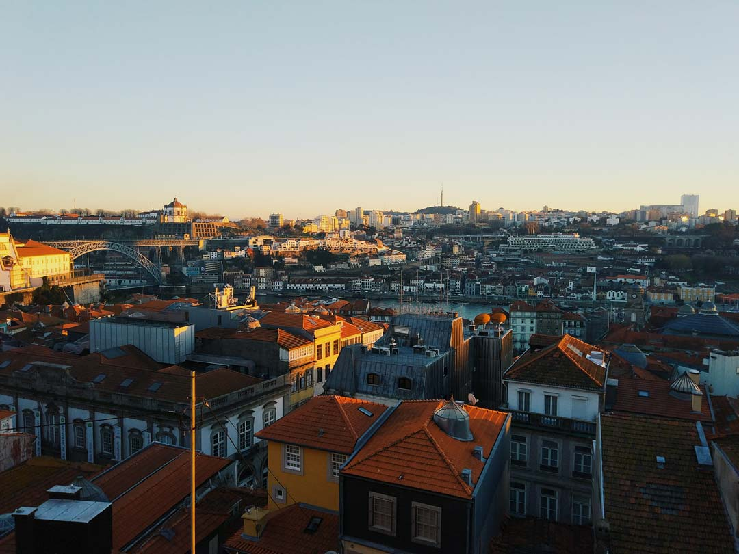 views of porto