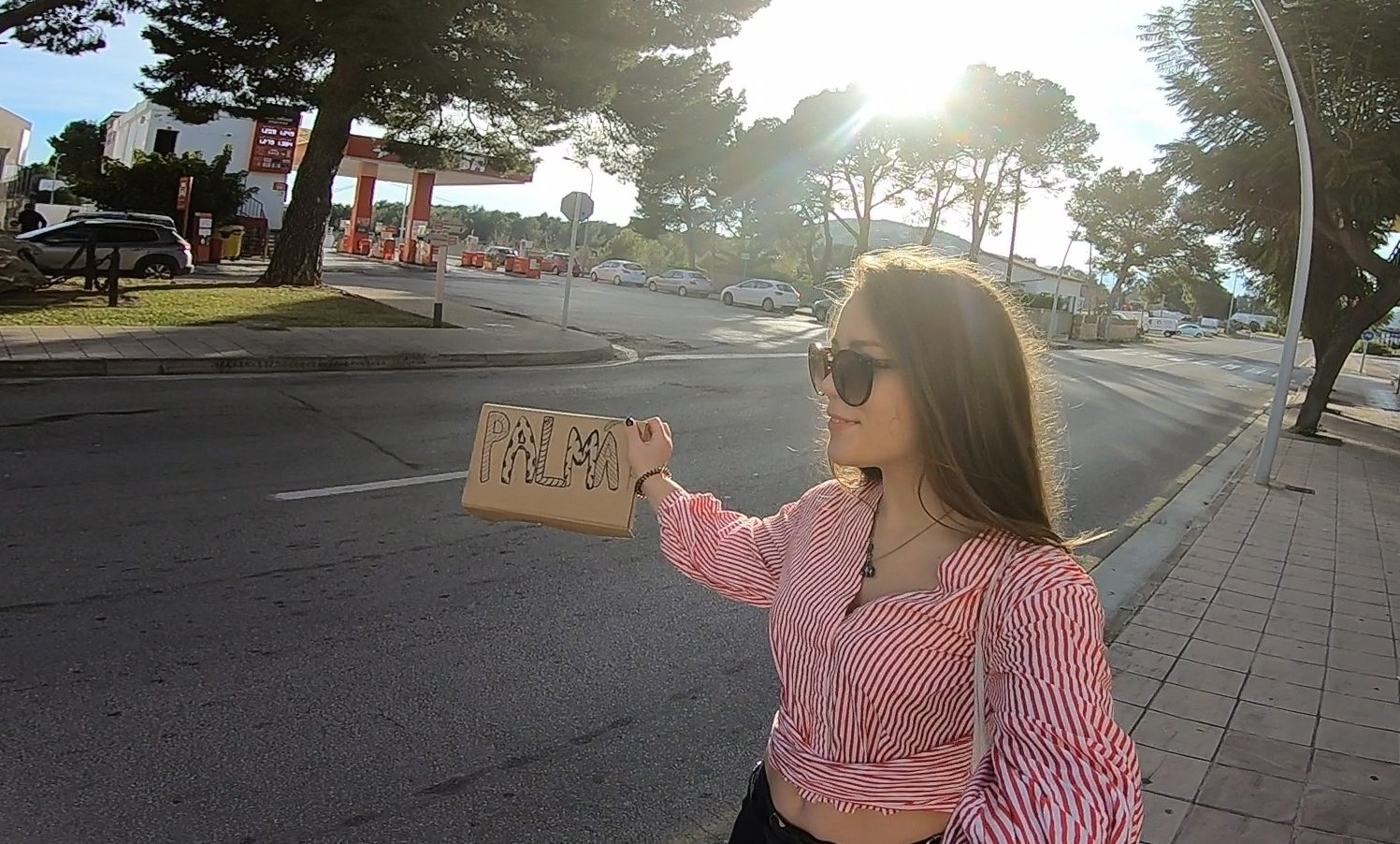 hitchhiking on mallorca